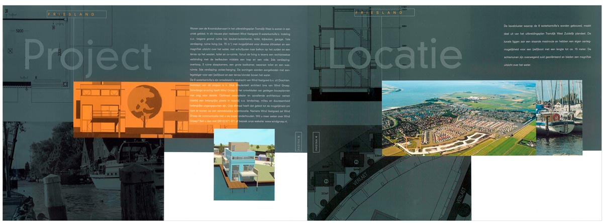 Project brochure pages