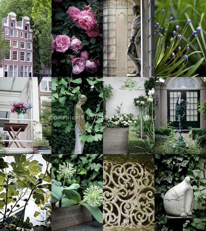 Amsterdam gardens open to the public.