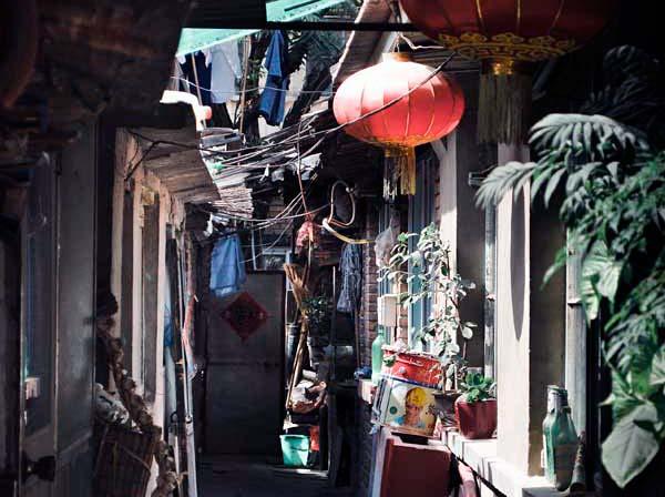 Hutong area in Beijing