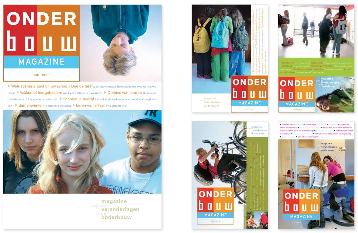Onderbouw-VO magazine has been developed to inform teachers