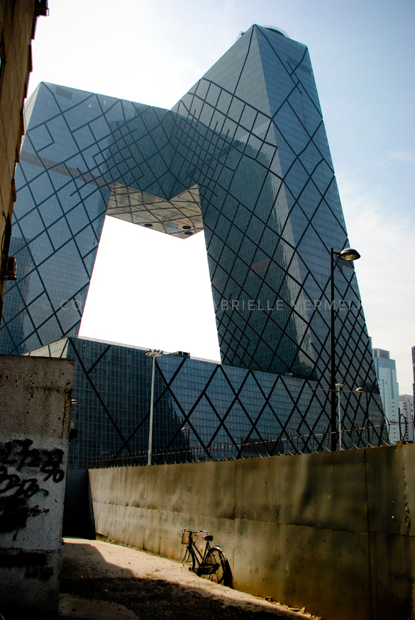 CCTV Headquarters in the Beijing Central Business District