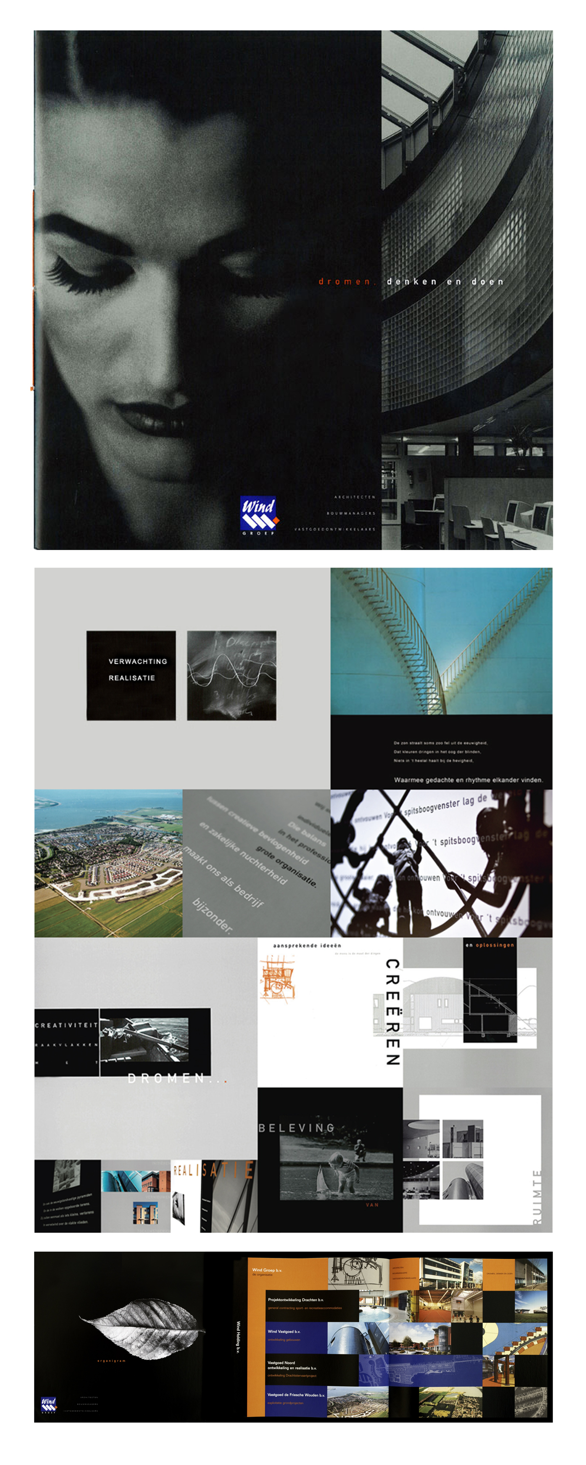 Corporate brochure dreamers thinkers and doers